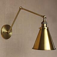 Ministil Svingarmslamper,Rustik/hytte E26/E27 Metal