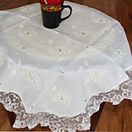 1 Polyester Carré Nappes de tableMariages / Dîner Décor Favor / Déco d'Intérieur / Hôtel Dining Table / Décoration Wedding Party /