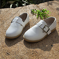 Children's Shoes Outdoor / Casual Leather Loafers / Slip-on Black / Red / White