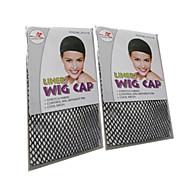 musta peruukki caps net peruukki tarvikkeet erityistä peruukki netto anti lipsahdus kiinteä hiukset peruukki 2kpl