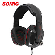 Somic G909 Hot 7.1 Virtual Surround Sound USB Gaming Headset with Vibrating Function MIC&Voice Control