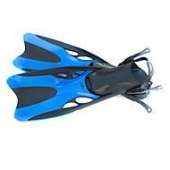 Tauchen Flossen Tauchen und Schnorcheln Schwimmen Silikon Gelb Blau