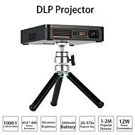 Factory-OEM DLP Mini Projector FWVGA (854x480) 80 Lumens LED 4:3/16:9
