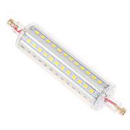 Ywxlight® regulable r7s 12w 118mm 72smd 2835 1050lm blanco cálido / blanco fresco ac 110-240v