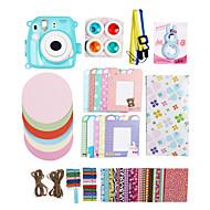 Fujifilm Instax Mini 8 Instant Photo Polaroid Camera Accessory Kit Gift (Mini Film PC Protective Case Sticker Album)