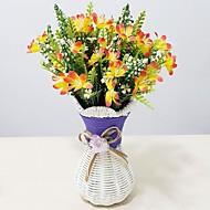 Plástico Orquideas Flores artificiais