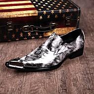 Mokasíny Černá Pánské boty Kůže Svatba / Party