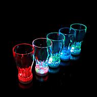 Colorful LED Flash Coke Glass (2 PCS / 360ml)