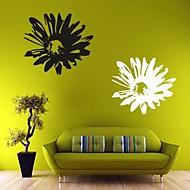 Romanticismo / Floreale Adesivi murali Adesivi aereo da parete , PVC L: 58 x 65 cm / M: 40 x 45cm / S: 25 x 28cm