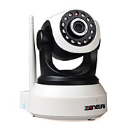zoneway® PTZ indoor wifi ip camera 720p ir-cut dag nacht p2p draadloze