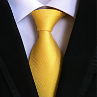 New Bright yellow Classic Formal Men's Tie Necktie Wedding Party Gift TIE0142
