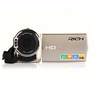 """rich® FW-560s의 HD 1080p의 화소 16 메가 픽셀 16 배 줌 3 """"LCD 화면 풀 hd 디지털 카메라 캠코더"""