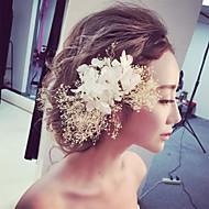Dame / Blomsterpige Blonde / Tyl Medaljon-Bryllup / Speciel Lejlighed Blomster 1 Stykke