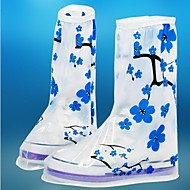 Women Anti-slip Reusable Rain/snow Protective  Slip-resistant Wear-resistant  Rain Shoe Covers Waterproof  Overshoes