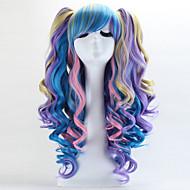 고딕 로리타 / 달콤한 로리타 70cm 긴 여러 가지 빛깔의 로리타의 가발