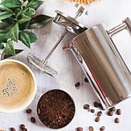 rozsdamentes acél francia kávé sajtó, nem rozsdásodik és mosogatógépben mosható.