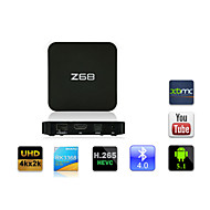 Z68 RK3368 Android 5.1 4K UHD TV BOX 2G/16G 2.4G/5G Dual Band WIFI 1000M Ethernet Bluetooth4.0 KODI HDMI H.265