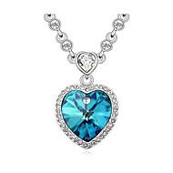 Oostenrijk Crystal hart hanger ketting, mooie sieraden