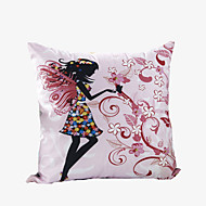 3D Design Print Beautiful Faery Decorative Throw Pillow Case Cushion Cover for Sofa Home Decor Polyester Soft Material