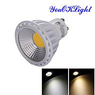 6W GU10 LED bodovky R63 1 COB 600 lm Teplá bílá / Chladná bílá Ozdobné AC 85-265 / AC 220-240 / AC 110-130 V 1 ks