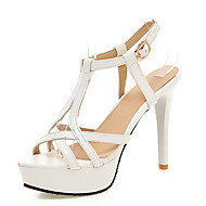 Women's Shoes Patent Leather Stiletto Heel Platform / D'Orsay & Two-Piece / T-Strap Sandals Wedding / Party & Evening