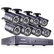 zosi® 8 canales hdmi 960H dvr vigilancia ir a casa el sistema de cámaras de seguridad cctv 8 PC 1000tvl