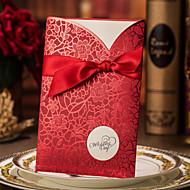 Hochzeits-Einladungen Hülle & Taschenformat Einladungskarten / Einladungskarten für die Verlobungsfeier Personalisiert 50 Stück / Set