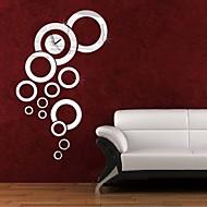 Κυκλικό Μοντέρνο/Σύγχρονο / Καθημερινά / Γραφείο/Επιχείρηση Ρολόι τοίχου,Διακοπών / Σπίτια / Εμπνευστικό / Γάμος / Οικογένεια /