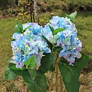 hoge kwaliteit hortensia bloemen, zijden bloemen zijden bloem kunstbloemen voor huisdecoratie bloem kit 1pc / set