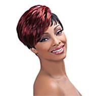 Flerfarvet - Syntetisk - Wig - Kort - til Kvinder
