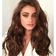 女性のための自然なセクシーな大きな波ブラジルのバージンレミー人間の髪の毛のかつらでafordable 8aはグルーレスまたは完全なレースのかつら