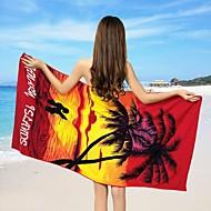 Strandhåndkle Som På Bilde,Reaktivt Trykk Høy kvalitet 100% Polyester Håndkle
