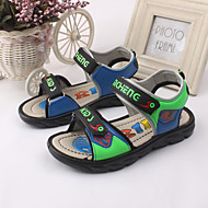 Boy's Sandals Spring / Summer Open Toe / Sandals / Slingback Leather Outdoor / Casual / Athletic Blue / Brown