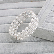 Damen Armbänder Strand Silber / Perle Perle