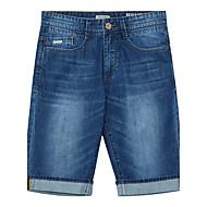 Målere / bonwe Herre Shorts / Jeans Bukser Lysegrøn-255167