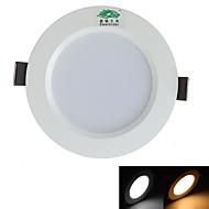 5W Lâmpada de Teto 10 SMD 5730 450 lm Branco Quente / Branco Natural Decorativa AC 85-265 V 1 pç