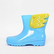 Women's Spring / Summer / Fall / Winter Rain Boots Rubber Outdoor Black / Blue / Yellow / Pink