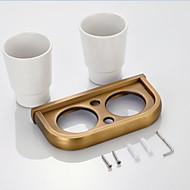 Držák na zubní kartáček / Koupelnové gadgety Vintage mosaz Na ze´d 7.9*3.7*1.1 inch Mosaz Neoklasicistní