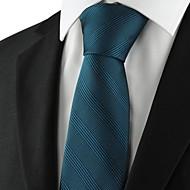 עניבה-פסים(ירוק,פוליאסטר)