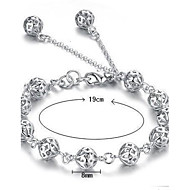 S925 Pure Stering Silver Hollow Ball Shape Bracelet,Fine Jewelry