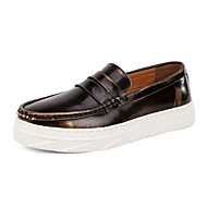 Serene Men's Shoes Office & Career / Casual Leather Boat Shoes Blue / Gold