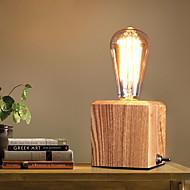 Asztali lámpa-Szemvédelem-Rusztikus-Fa/bambusz