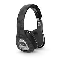 Meki zombie bluetooth bezdrátová přes uší stereo sluchátka bezdrátové / drátové sluchátka s mikrofonem pro chytré telefony