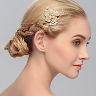 Women's Pearl / Rhinestone Headpiece-Wedding / Special Occasion / Casual / Office & Career / Outdoor Hair Combs 1 Piece