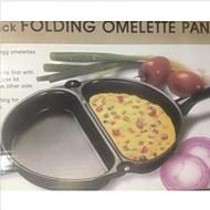 1PC Folding Handle Fried Eggs Pot Folding Omelette Pan
