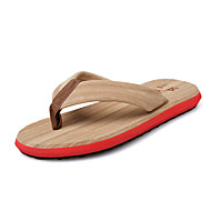 Men's Slippers Casual/Sandy beach/Home Fashion Slip Resistant Flip-Flops Red/Bule/Green