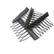20Pcs Comb Clips For Wig Caps Convenient For Wig and Ponytail Making Accessories Combs Wig Teetch Clips