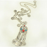 Collana Per donna Anniversario / Regalo / Festa / Quotidiano / Casual / Formale / All'aperto Turchese Lega