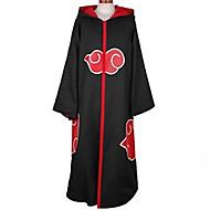 Anime Cosplay Costume Naruto Akatsuki Black Cosplay Cloak with Cap