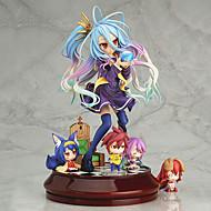 no peli ei elämää shiro 20cm anime toimia luvut malli leluja nukke lelu (ilman 4 vähän lukuja)